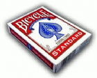 Bicycle Playing Cards blue or red backed X 6